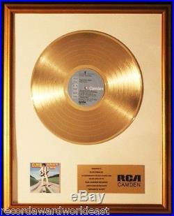 Elvis Presley Separate Ways LP Gold Non RIAA Record Award RCA Camden Records
