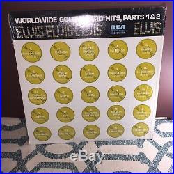 Elvis Presley Worldwide Gold Award Hits Parts 1 & 2