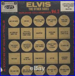 Elvis Presley Worldwide Gold Award Hits Volume 2, The Other Sides Vinyl LP-Box