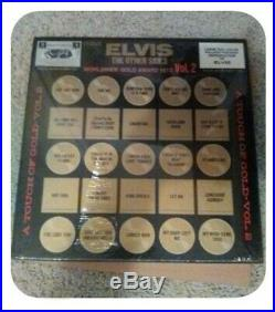 Elvis The Other Sides Gold Award Hits Vol 2 Box Set 4 LP With 2 BONUS Items