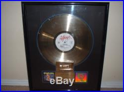 Faith No More Riaa Gold Record Award The Real Thing Epic Falling To Pieces