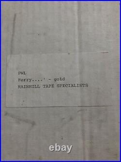 Ferry'Cross The Mersey UK Gold Disc Award BPI Certified PWL Paul McCartney
