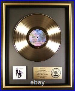 Fleetwood Mac Rumours LP Gold RIAA Record Award Warner Brothers To Fleetwood Mac