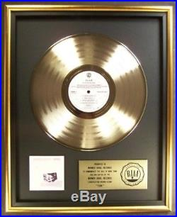 Fleetwood Mac Tusk LP Gold RIAA Record Award Columbia Warner Brothers