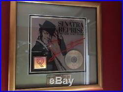 Frank Sinatra AUTHENTIC The Very Good Years Gold RIAA Award Reprise Records