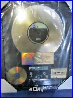 GENUINE, KISS, 20th Century Millennium RIAA GOLD RECORD AWARD To Eric Carr