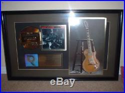 Gary Moore Thin Lizzy Riaa Gold Record Award Still Got The Blues