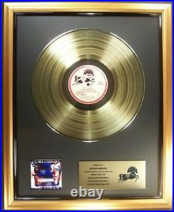 George Harrison 33 1/3 Thirty Three And LP Gold Non RIAA Record Award Dark Horse