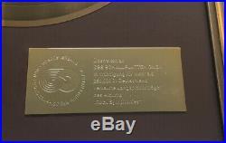 Goldene Schallplatte Gold Award Rock Symphonies The London Symphony Orchestra