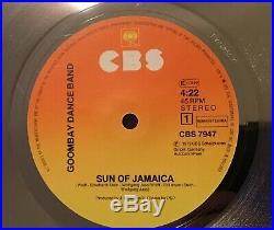 Goldene schallplatte Goombay Dance Band gold platin record award Sun of Jamaica