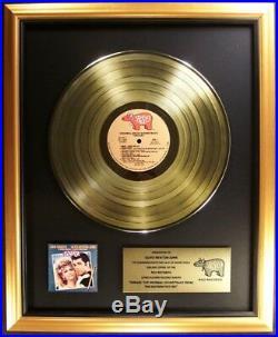 Grease Original Soundtrack Gold LP Gold Non RIAA Record Award Olivia Newton John