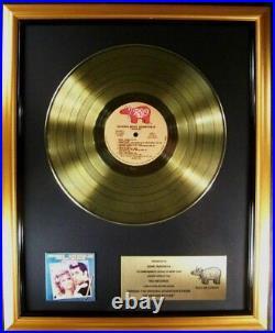 Grease Original Soundtrack LP Gold Non RIAA Record Award John Travolta