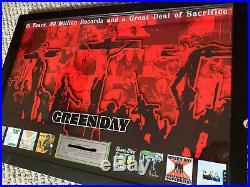 Green Day Music Award Gold Platinum Record Rare Riaa