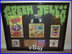 Green Jello Riaa Gold Record Award Cereal Killer Soundtrack +three Little Pigs