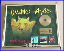 Guano Apes Gold Award (goldene Schallplatte) Proud Like A God