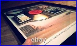 HIGHWAYMAN Gold Record Award (Columbia) Special RARE 17 X 21 withWillie, Waylon