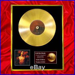 Him Greatest Hits Vol. 666 CD Gold Disc Record Lp Vinyl Award Display Free P&p