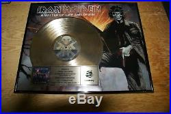 Iron Maiden Presented To Tower Records Gold Record Award Matter Of Life And Deat