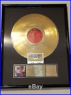 JJ Fad Super Sonic RIAA Award Gold Record Ruthless Miami Bass Rap Hip Hop
