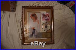 JO DEE MESSINA I'm Alright beautifully framed RIAA Gold Record Award