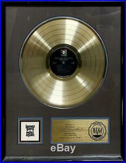 JOE WALSHJAMES GANG RIDES AGAIN Gold Record Award Presented To Joe WalshEagles
