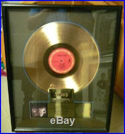 James Taylor Gold Riaa Record Award for Never Die Young