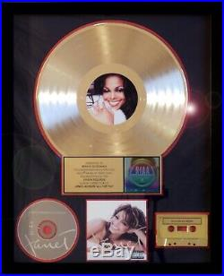 Janet Jackson, Michael Jackson All For You Riaa Record Award Gold Collectors