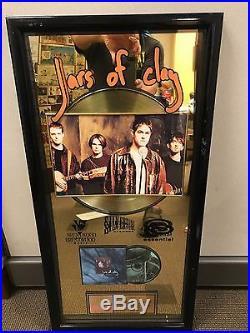 Jars of Clay RIAA Gold Record Award issued to Steve Mason
