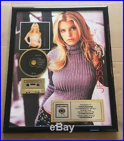 Jessica Simpson Gold Award Irresistible goldene Schallplatte music award