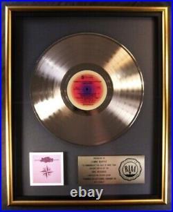 Jimmy Buffett Changes In Latitudes, In Attitudes LP Gold RIAA Record Award CBS