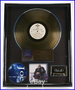Joe Don't Want To Be A Player Riaa Music Industry Gold Record Sales Award