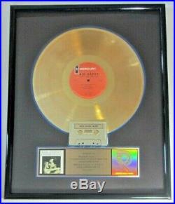 John Cougar Mellencamp Big Daddy Riaa Certified Gold Award 7/10/1989