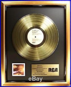 John Denver An Evening WIth John Denver LP Gold Non RIAA Record Award RCA
