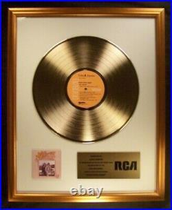 John Denver Back Home Again LP Gold Non RIAA Record Award RCA Records