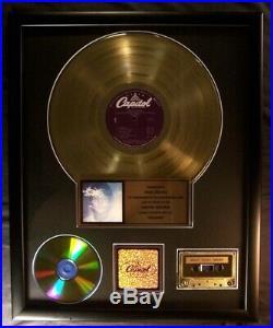 John Lennon Imagine LP Cassette CD Gold Non RIAA Record Award Apple Records