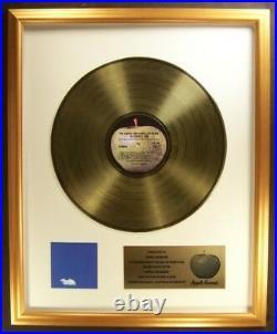 John Lennon Plastic Ono Band Live Peace In Toronto LP Gold Non RIAA Record Award