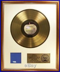 John Lennon Plastic Ono Band Live Peace In Toronto LP Gold RIAA Record Award