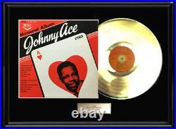 Johnny Ace Memorial Album Gold Metalized Record Vinyl Lp Rare Non Riaa Award