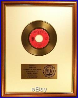 Johnny Cash A Boy Named Sue 45 Gold RIAA Record Award Columbia Records