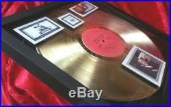 Johnny Cash I WALK THE LINE Gold Record Award (Columbia 1964 Album)