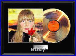 Joni Mitchell Clouds Gold Metalized Record Vinyl Lp Album Non Riaa Award Frame