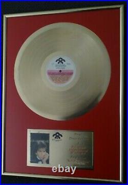 José Luis Rodríguez, El Puma Gold Record Award Disco de Oro Senor Corazon 1987