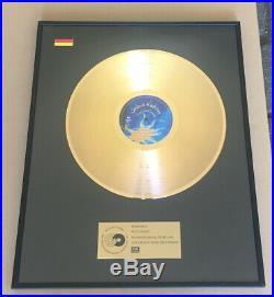 Joshua Kadison Gold Award goldene Schallplatte Painted Desert Serenade