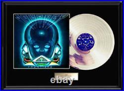 Journey Frontiers Album Lp White Gold Silver Platinum Tone Record Non Riaa Award