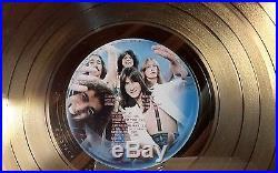 Journey / Steve Perry Captured Authentic Gold Riaa Record Award Rare Lqqk