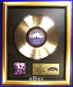 KISS Alive! LP Gold Non RIAA Record Award Casablanca Records To KISS