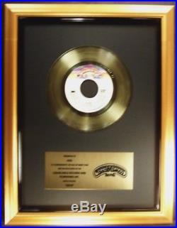 KISS Beth 45 Gold Non RIAA Record Award Casablanca Records To KISS