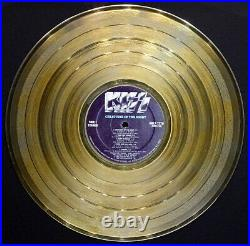 KISS Creatures of the Night RIAA GOLD RECORD AWARD Paul Stanley GENE SIMMONS