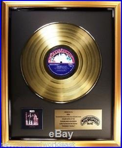 KISS Dressed To Kill LP Gold Non RIAA Record Award Casablanca Records