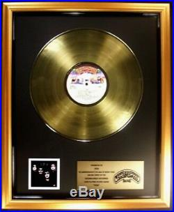 KISS KISS Debut LP Gold Non RIAA Record Award Casablanca Records To KISS